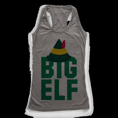 Big Elf Racerback Tank Top