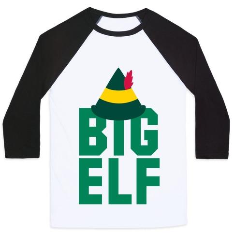 Big Elf Baseball Tee
