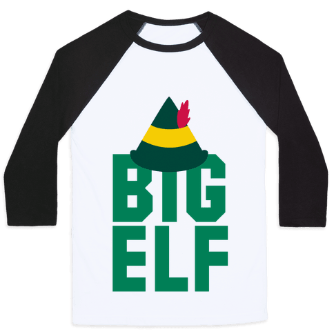 Big Elf Baseball Tee