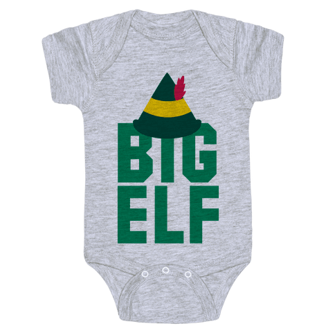 Big Elf Baby Onesy