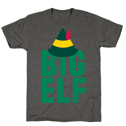 Big Elf Mens T-Shirt