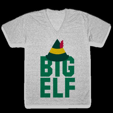 Big Elf V-Neck Tee Shirt