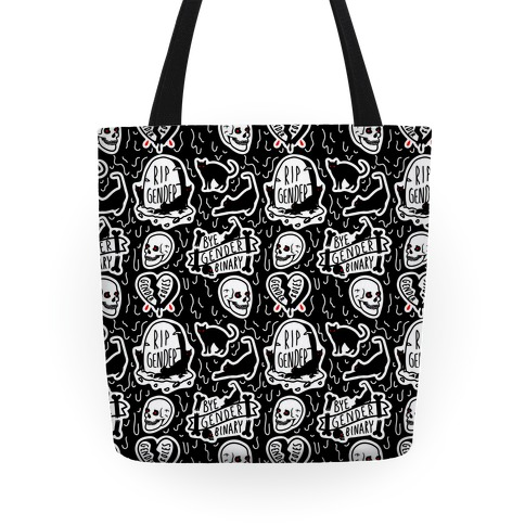 RIP Gender Pattern Tote