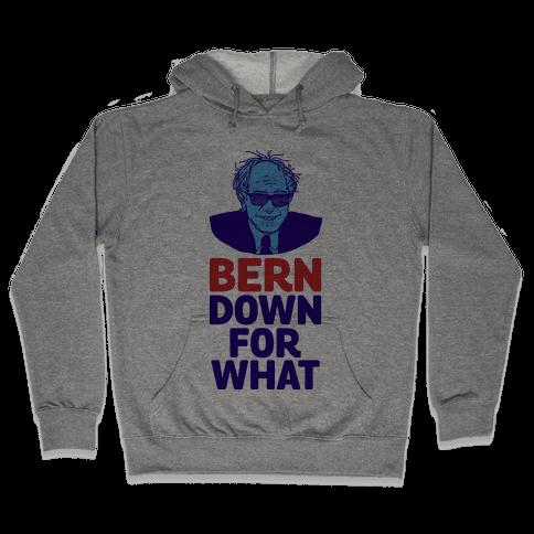 Bern Down For What Hooded Sweatshirt
