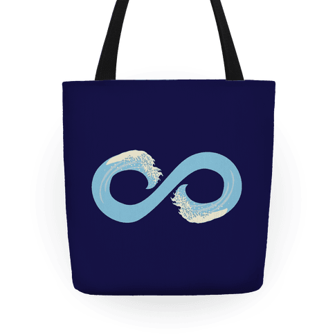 Ocean Infinity (Light Blue) Tote