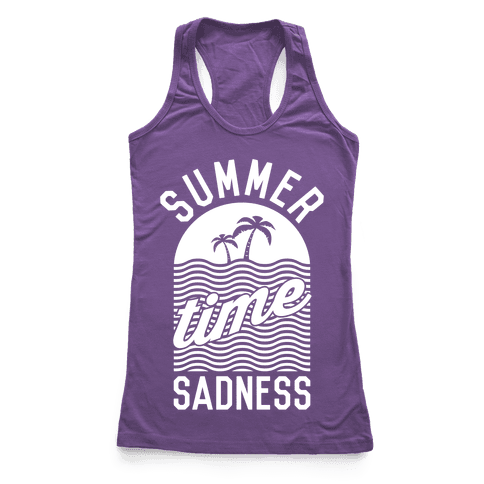 Summertime Sadness Racerback Tank Top