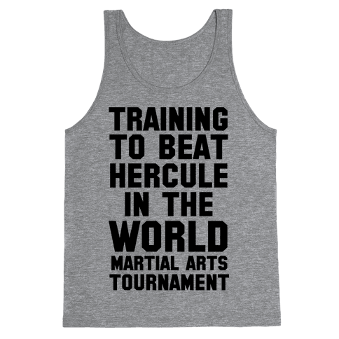 Training to Beat Hercule in the World Martial Arts Tournament