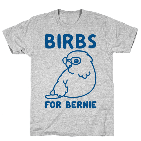 Birbs For Bernie Mens T-Shirt