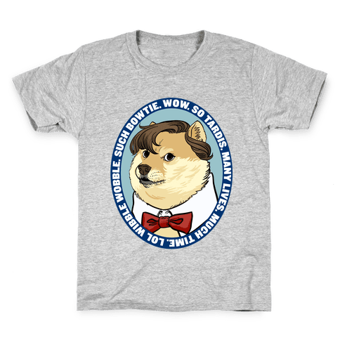 The Doctor Doge Kids T-Shirt