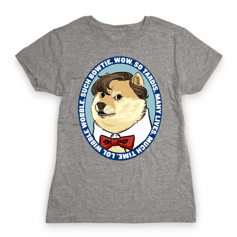The Doctor Doge Womens T-Shirt