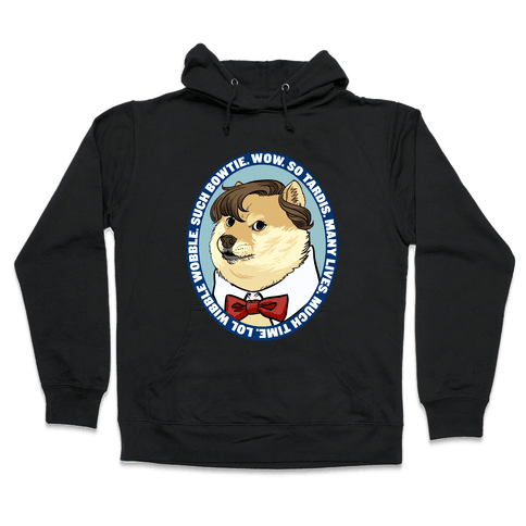 The Doctor Doge Hooded Sweatshirt