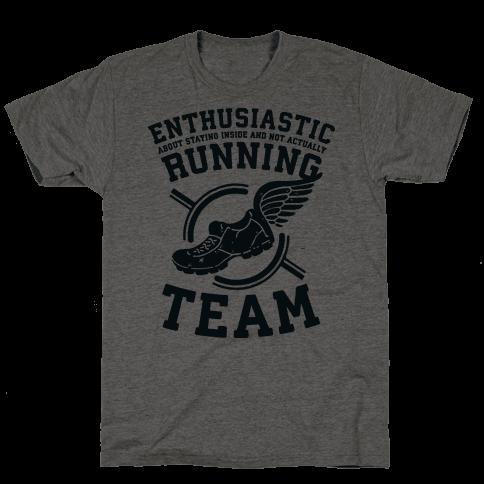 Enthusiastic Running Team