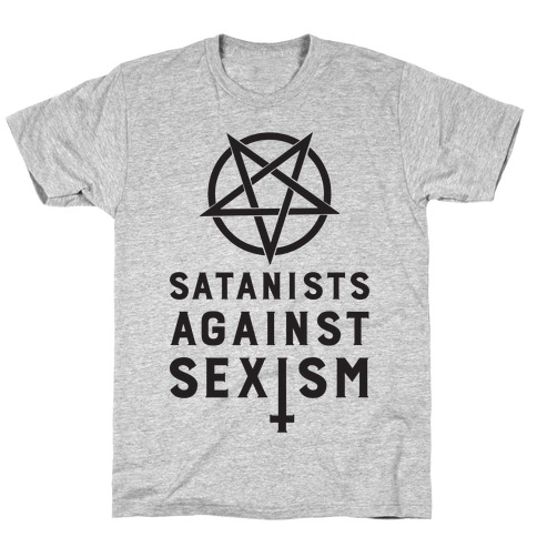 Satanists Against Sexism T-Shirt