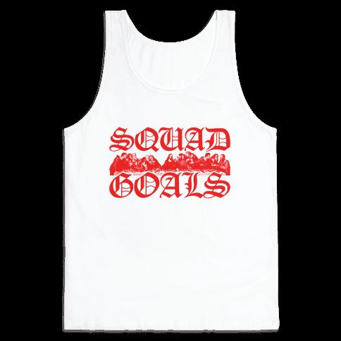 Squad Goals Apostles Tank Top