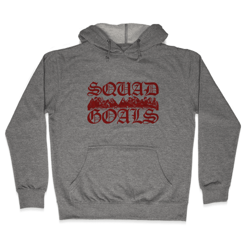 Squad Goals Apostles Hooded Sweatshirt