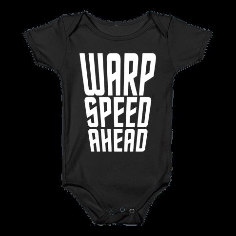 Warp Speed Ahead Baby Onesy