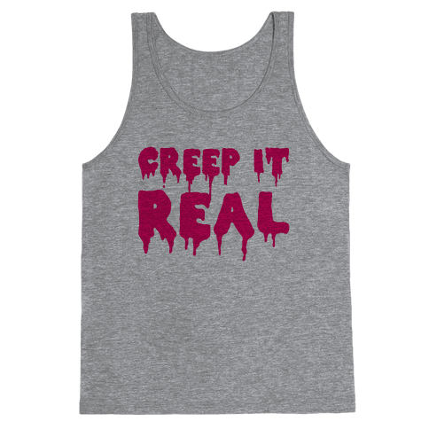 Creep It Real (Pink) Tank Top