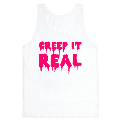 Creep It Real (Pink) Tank Top