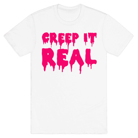 Creep It Real (Pink) Mens T-Shirt