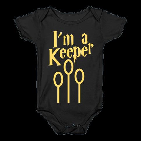 I'm a Keeper (HP) Baby Onesy