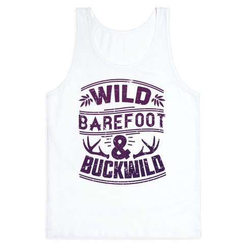 Wild Barefoot & Buckwild Tank Top