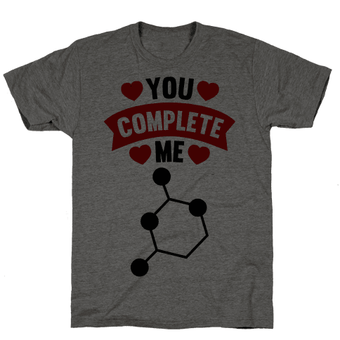 You Complete Me (RNA G & C) Mens T-Shirt