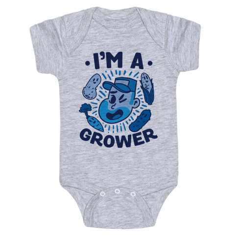 I'm a Grower Baby Onesy