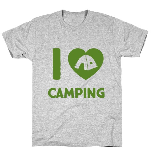 I Heart Camping Mens T-Shirt