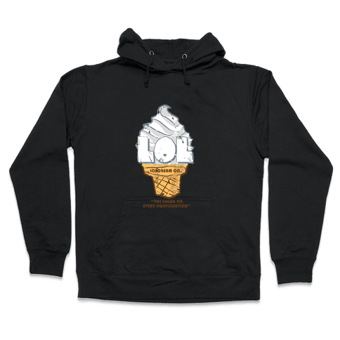 LOL Ice Cream Hooded Sweatshirt