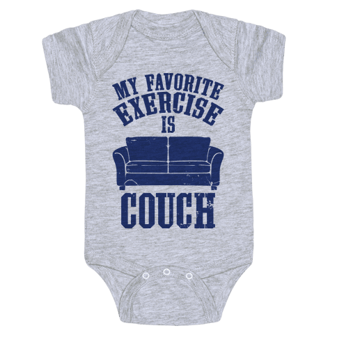 Favorite Exercise Baby Onesy
