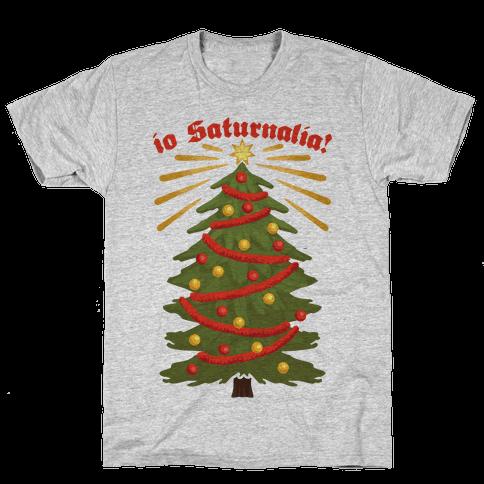 Io Saturnalia! Mens T-Shirt
