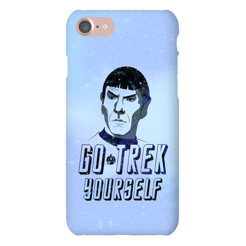 Go Trek Yourself Phone Case