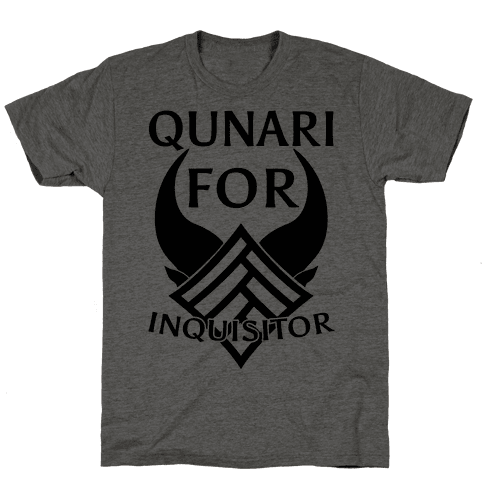Qunari For Inquisitor Mens T-Shirt