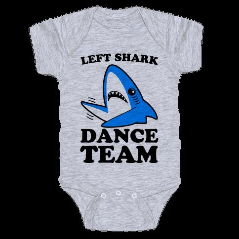 Left Shark Dance Team Baby Onesy