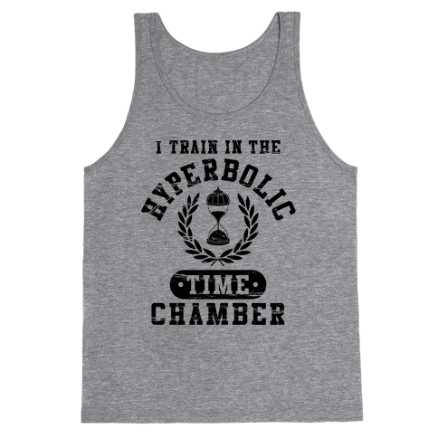 Hyperbolic Time Chamber (Distressed) Tank Top