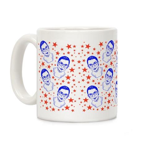 Red White and RBG Coffee Mug