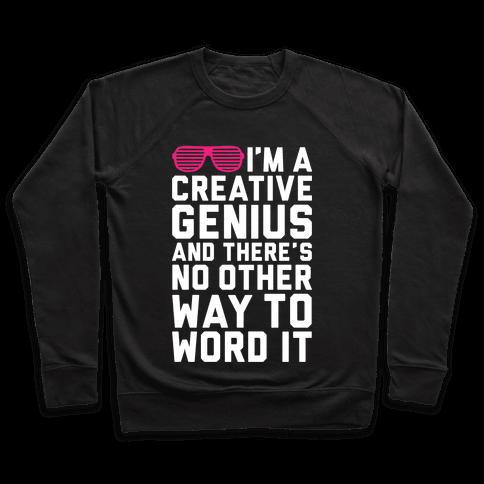 Creative Genius Pullover