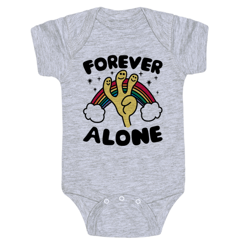 Forever Alone Baby Onesy