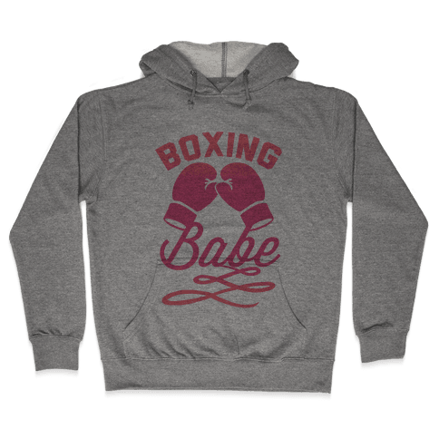 Boxing Babe Hooded Sweatshirt