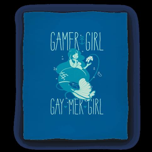 Gamer Girl Gay Mer Girl Blanket