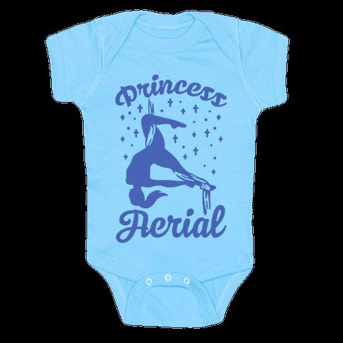 Princess Aerial Baby Onesy