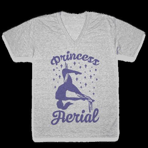 Princess Aerial V-Neck Tee Shirt
