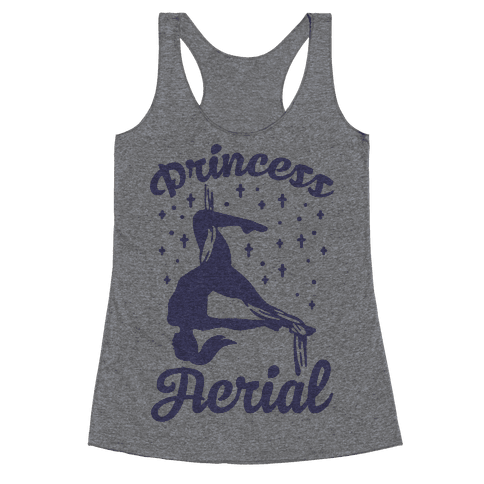 Princess Aerial Racerback Tank Top