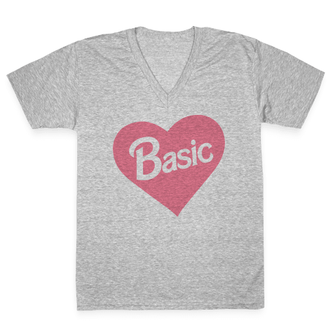 Basic V-Neck Tee Shirt
