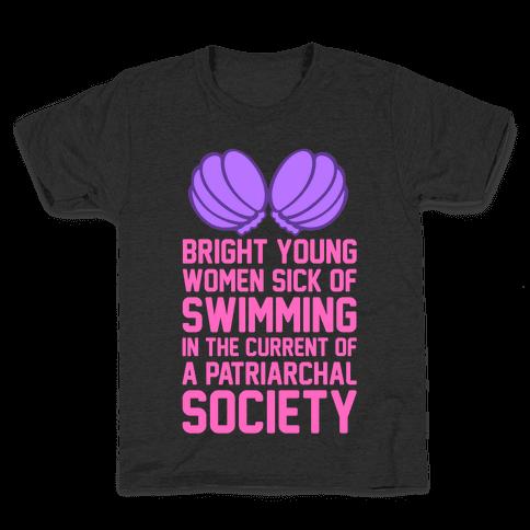 Feminist Mermaid Kids T-Shirt