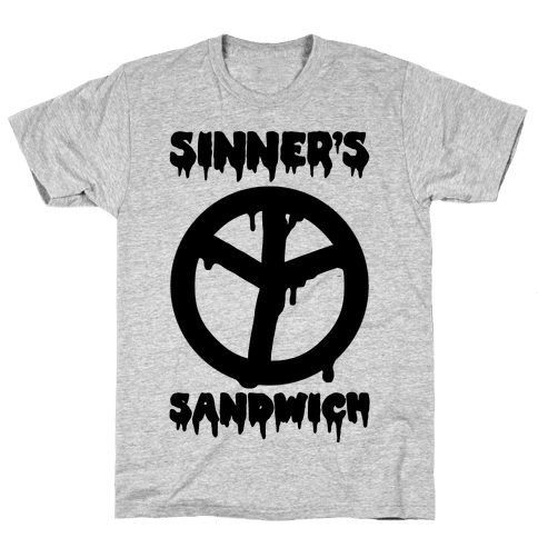 Sinner's Sandwich Mens T-Shirt