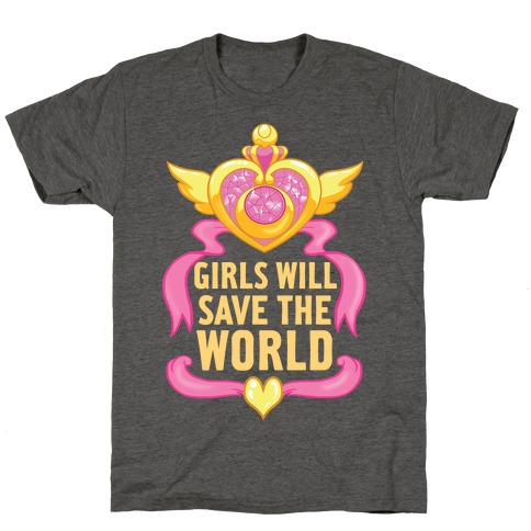Girls Will Save The World T-Shirt