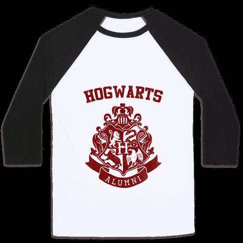 Hogwarts Alumni (Gryffindor) Baseball Tee