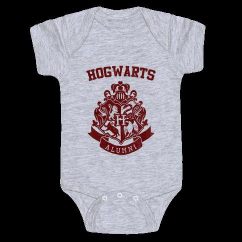 Hogwarts Alumni (Gryffindor) Baby Onesy