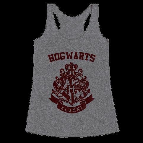 Hogwarts Alumni (Gryffindor) Racerback Tank Top